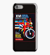VUELTA CICLISTA; VintageBicycle Racing Advertising Print iPhone Case/Skin