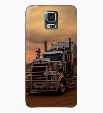 Prime Mover Kenworth truck at Sunset Case/Skin for Samsung Galaxy