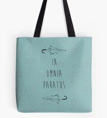 Bolsa de tela En Omnia Paratus