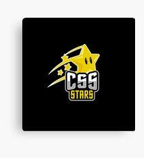 CSS Stars Canvas Print