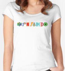 Nintendo Franchises Women's Fitted Scoop T-Shirt