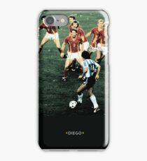 diego maradona iPhone Case/Skin