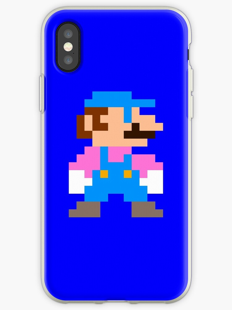 Mario (Blue) by googletumble69