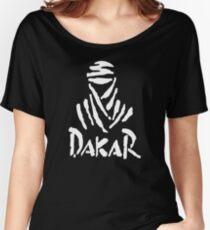 Dakar Hot Rally Desert Women's Relaxed Fit T-Shirt