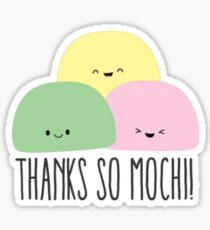 Pegatina ¡Gracias, So Mochi!