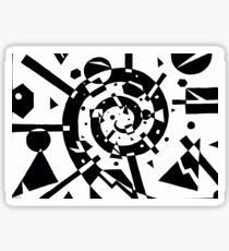 Geometric Explosion Sticker