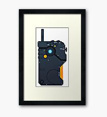 iDroid - Metal Gear Solid V Framed Print