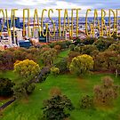 I Love Flagstaff Gardens in Melbourne by Beverly Claire Kaiya