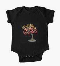 Autumn Tree, art sculpture One Piece - Short Sleeve