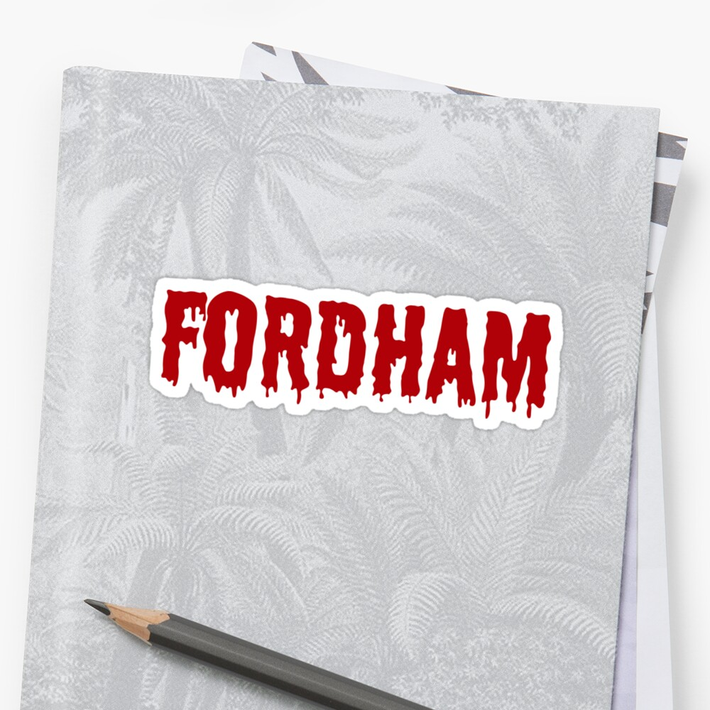 Fordham Pegatina