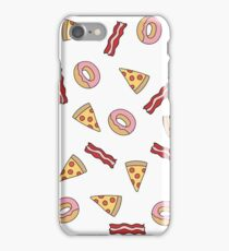 Pizza, Bacon & Donuts iPhone Case/Skin