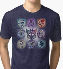 Decepticons Prime- Collection Tri-blend T-Shirt