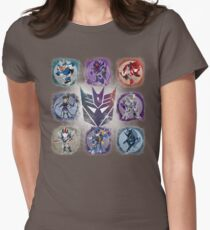 Decepticons Prime- Collection Womens Fitted T-Shirt