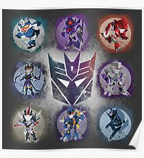 Decepticons Prime- Collection Poster