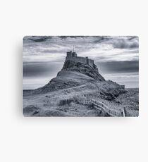 The Castle  Holy Island Canvas Print