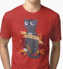 Keep Going Tri-blend T-Shirt