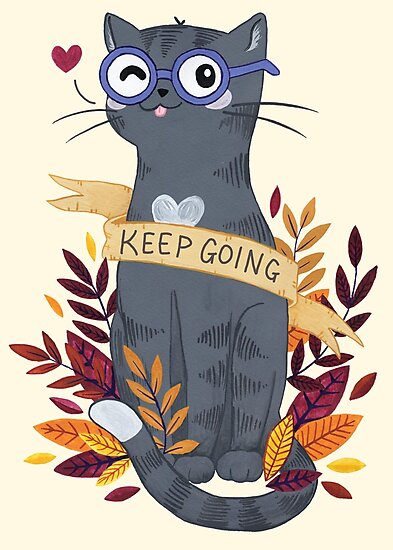 Keep Going by Calista Douglas