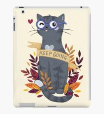 Keep Going iPad Case/Skin