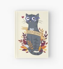 Keep Going Hardcover Journal