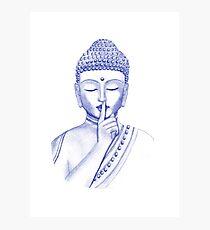Shh ... do not disturb - Buddha  Photographic Print