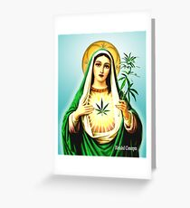 Mother Mary Jane Greeting Card