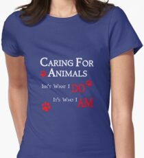 Caring For Animals Pet and Animal Lover T-Shirt