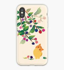 Berry and cats iPhone Case