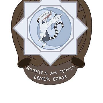 Southern Air Temple Lemur Air Corps V2 by tehmomo