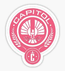 Pink Capitol Sticker