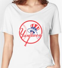 NY Yankees Women's Relaxed Fit T-Shirt