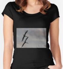 Twinning  Women's Fitted Scoop T-Shirt