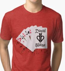 David Blaine Split Spade  Tri-blend T-Shirt