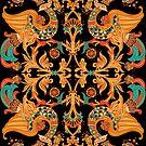Birds of Paradise by Losenko  Mila