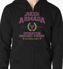 Irken Armada: Color Option Zipped Hoodie
