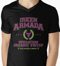 Irken Armada: Color Option Mens V-Neck T-Shirt