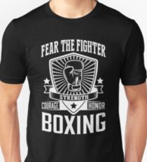 Boxing: Fear the fighter Unisex T-Shirt