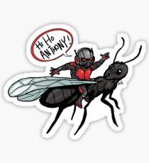 Hi Ho Anthony!  Sticker
