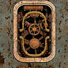 Infernal Steampunk Machine #1 phone cases by Steve Crompton