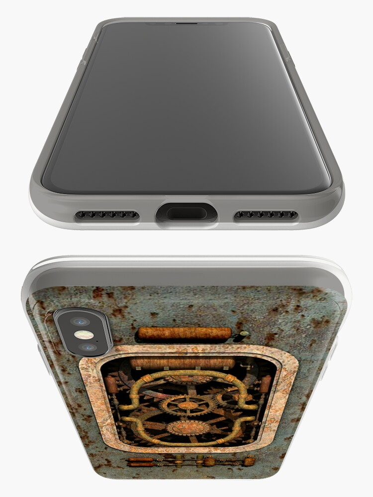 Alternate view of Infernal Steampunk Machine #1 phone cases iPhone Cases & Covers