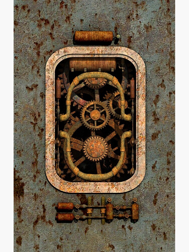 Infernal Steampunk Machine #1 phone cases by SC001