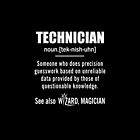Technician Gifts - Technician Definition Shirt - Funny Technician Meaning Shirt by Jacky Poppe