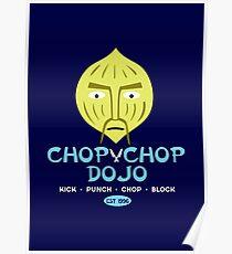 Chop Chop Dojo Poster