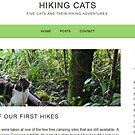 Hiking Cats by Toradellin