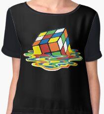 Sheldon's Rubik Chiffon Top