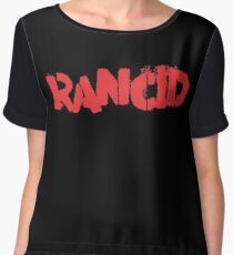 Rancid Logo Women's Chiffon Top