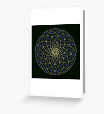God Particle Greeting Card