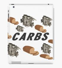CARBS iPad Case/Skin