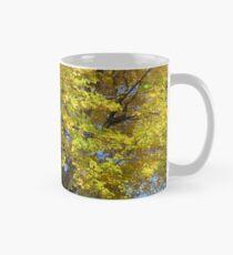 Golden Leaves Mug