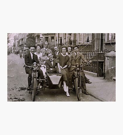 Family and friends - London 1920s Photographic Print