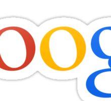 Google sign Sticker